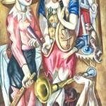 Beckmann, Max, 1884-1950; Carnival (Fastnacht)